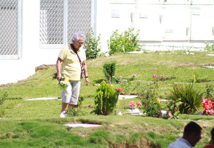 En Los Olivos hay más de 14 mil espacios sin contar la fosa común. (Sergio Orozco/ SIPSE)