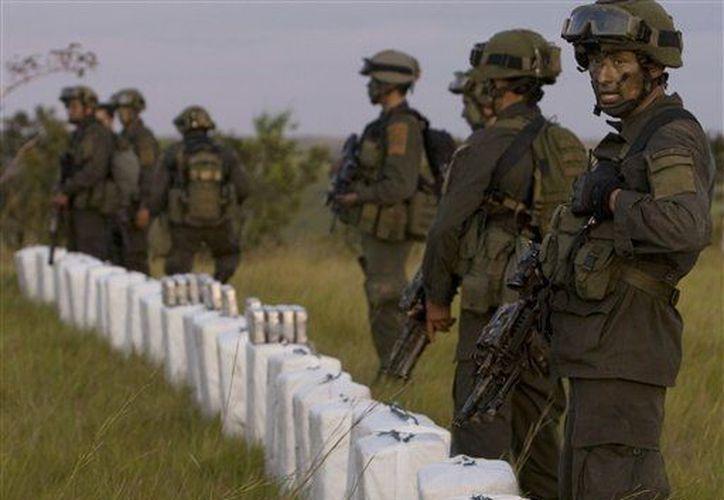 Paraguay no produce cocaína pero es un país de tránsito hacia los mercados de consumo. La imagen es de un decomiso en Colombia. (Agencias)