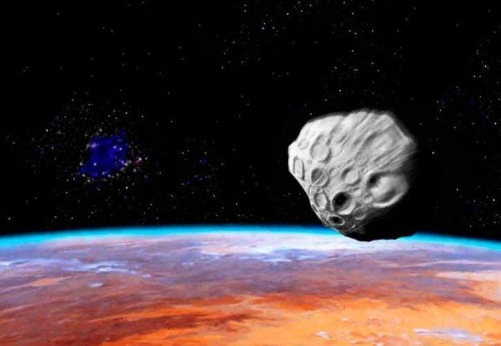 El proyecto para un 'seleccionador de asteroides' está basado en un escenario de escasez de recursos en la tierra. (Imagen de contexto/diario.latercera.com)