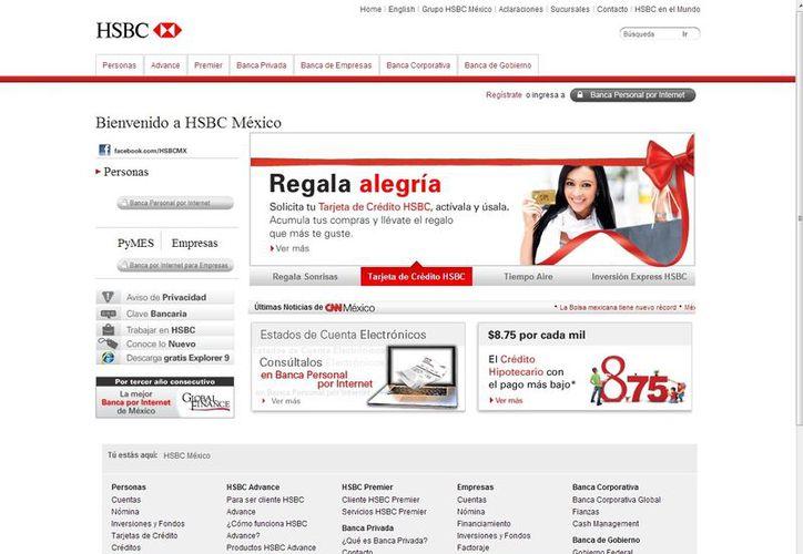 La DEA indicó que HSBC Bank USA no monitoreó más de 9.4 mil mdd en compras de esa divisa de HSBC México. (hsbc.com.mx)