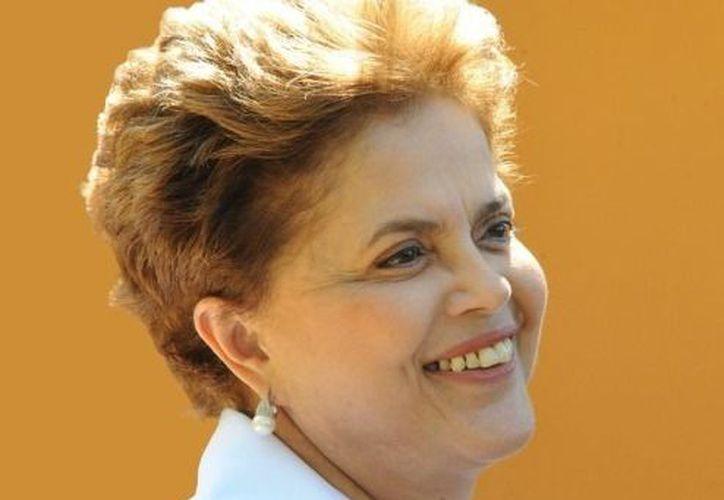 La presidenta de Brasil, Dilma Rousseff. (Agencias)