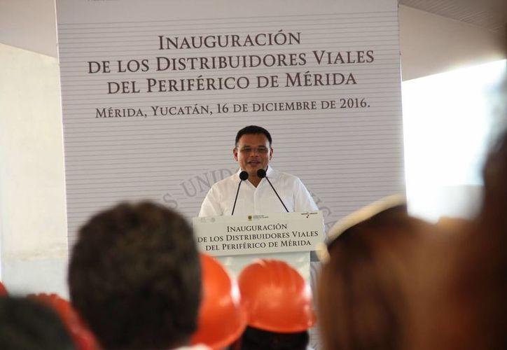 El gobernador Rolando Zapata inaugura este sábado 'Viva la Navidad' en la Plaza 'El Patio'.(Foto de contexto de SIPSE)