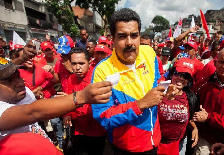 Maduro ordenó el despliegue de la fuerza militar en las calles. (Agencias)