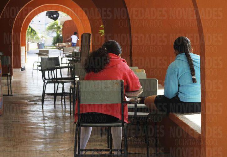 Al menos 25 planteles escolares de Cancún han sido víctimas de robos. (Ivette Ycos/SIPSE)