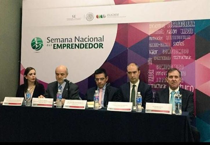 Continúan las actividades de la Semana Nacional del Emprendedor. (Stephani Blanco /SIPSE)
