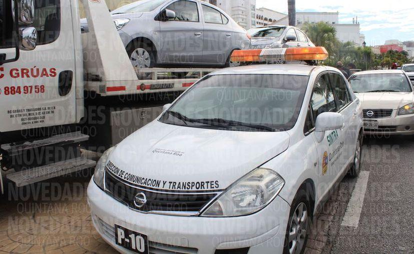Las ocho patrullas adscritas para tres municipios generan en promedio 48 mil pesos de ingreso por extorsiones. (Luis Soto/SIPSE)