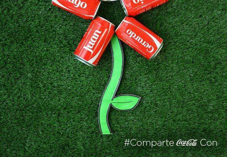 Existen 200 nombres diferentes disponibles en las latas del refresco. (Facebook/Coca Cola)
