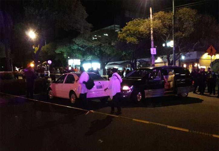 Uno de los lesionados fue dado de alta y trasladado a la agencia del Ministerio Público de Naucalpan. (Excelsior)