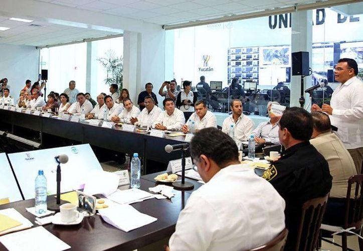 El Gobernador anunció que este  año se realiza una inversión histórica en el rubro de seguridad pública, superior a los dos mil 662 millones de pesos. (Cortesía)