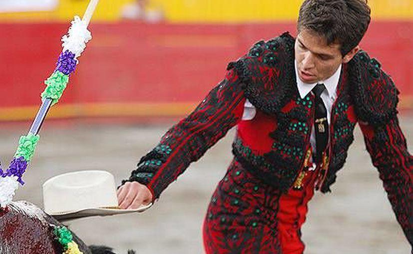 Al torero mexicano Antonio García, El Chihuahua, de 30 años, le va bien en el extranjero. (altoromexico.com)