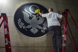 Reapertura de la embajada de EU en Cuba