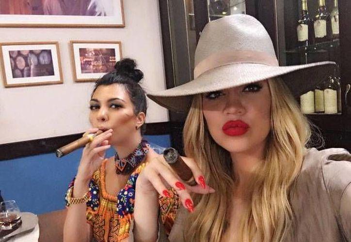 Las hermanas Kardashian estuvieron en La Habana vacacionando, aunque odiaron la poca señal en la isla. (Excelsior)