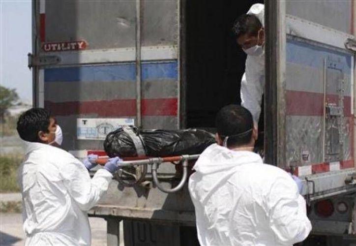 Al menos 17 elementos de la Policía Municipal de San Fernando están involucrados en la muerte de 194 migrantes. (Archivo/The Associated Press)