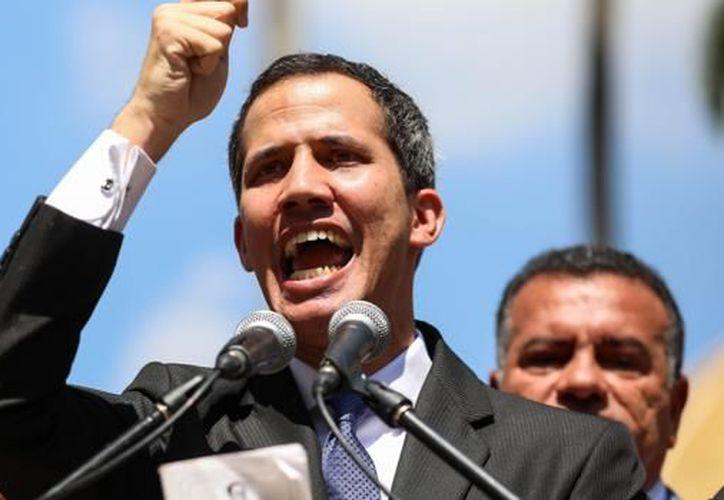 El presidente de la Asamblea Nacional de Venezuela, Juan Guaidó se proclamó presidente interino de dicho país. (ABC)