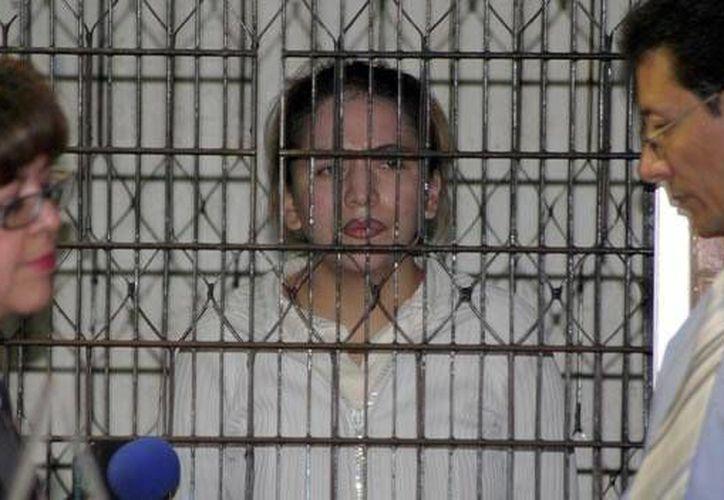 Tania Vázquez sufrió quemaduras en la mitad de su cuerpo al intentar atentar contra un jefe de la policía capitalina en 2008. (CNN/Archivo)