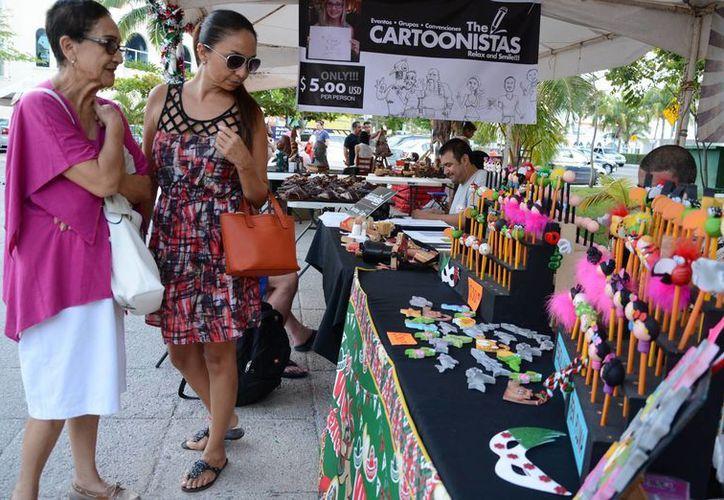 La exposición artesanal se realizará en el Jardín del Arte. (Luis Soto/SIPSE)
