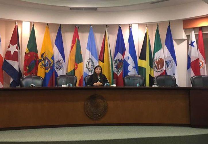 La estudiante Jessy Guadalupe Cetz Celis, integrante del selectivo de la Uady,  obtuvo una pasantía con una duración de 9 meses para reforzar conocimientos en Costa Rica. (Facebook Jessy Guadalupe Cetz Celis)