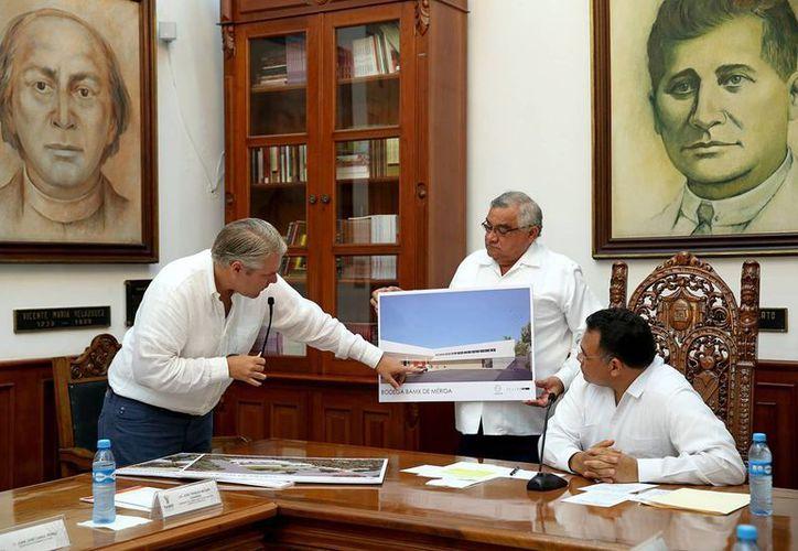 Este lunes se presentó el proyecto en el Salón de los Retratos de la sede del Ejecutivo. (Cortesía/ Gobierno de Yucatán)