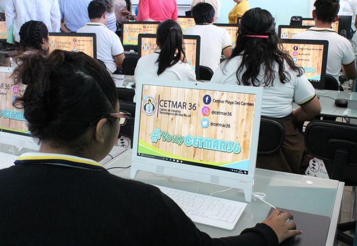 El Cetmar 36 tendrá a partir del próximo ciclo escolar una sala de lectura. (Adrián Barreto/SIPSE)