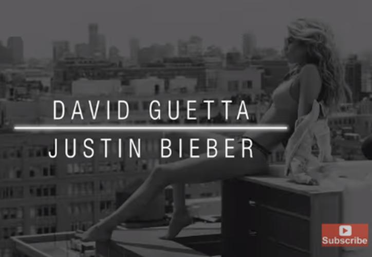 Justin Bieber y David Guetta unieron fuerzas para una nueva colaboración. (Captura Youtube).