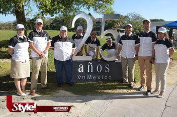 Participan 90 golfistas en Mercedes Trophy