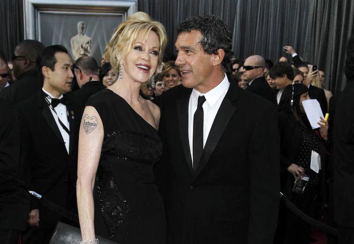 Melanie Griffith presentó una solicitud de divorcio a Antonio  Banderas este viernes en Los Angeles, después de 18 años de casados. (Agencias)