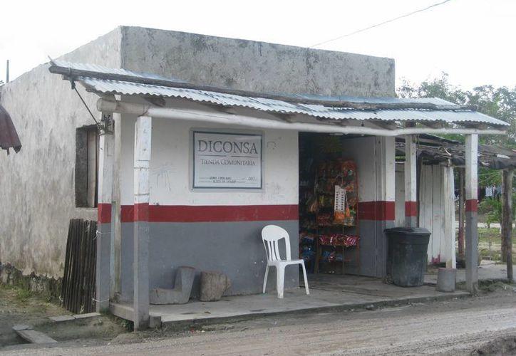 Se agudiza situación de campesinos de Bacalar, por pérdida de cultivos y escases en las tiendas Diconsa. (Javier Ortiz/SIPSE)