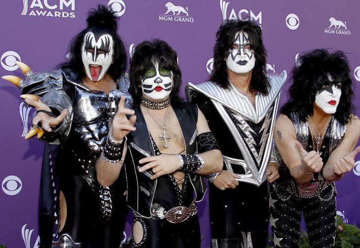 Kiss estará inlcuido en el festival de metal Hell & Heaven. (nypost.com)