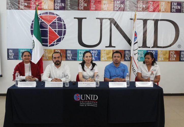 La rectora de la Unid indicó que ya se firmaron los convenios de colaboración. (Foto: Adrián Barreto/SIPSE)