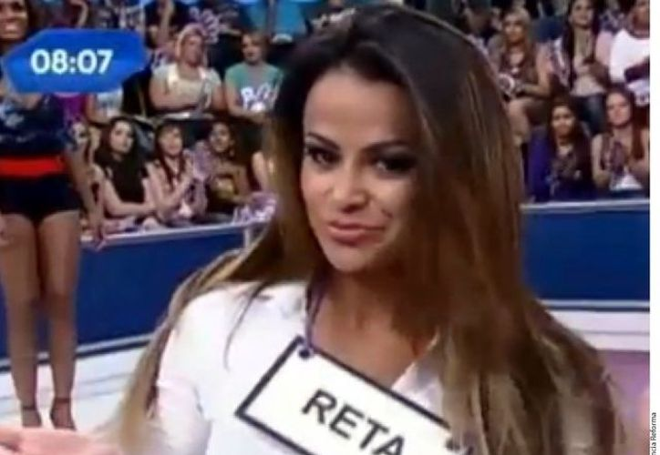 Pamela Nascimento se lanzó a la fama como modelo de programas de televisión brasileños. (Agencia Reforma)