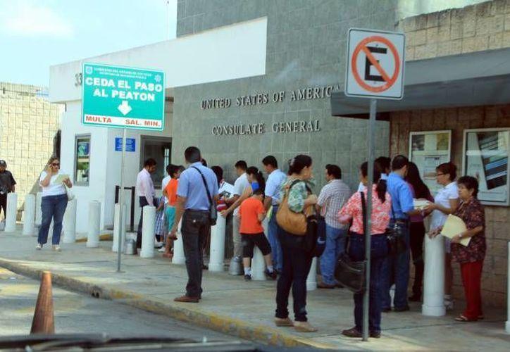 El consulado recomienda tramitar un pasaporte de emergencia para casos excepcionales durante los próximos 10 días. (Archivo/SIPSE)