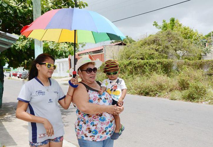 Quintana Roo se ha mantenido en rangos de temperaturas que lo ubican como una región muy calurosa, entre los 30 y 36 grados centígrados. (Joel Zamora/SIPSE)