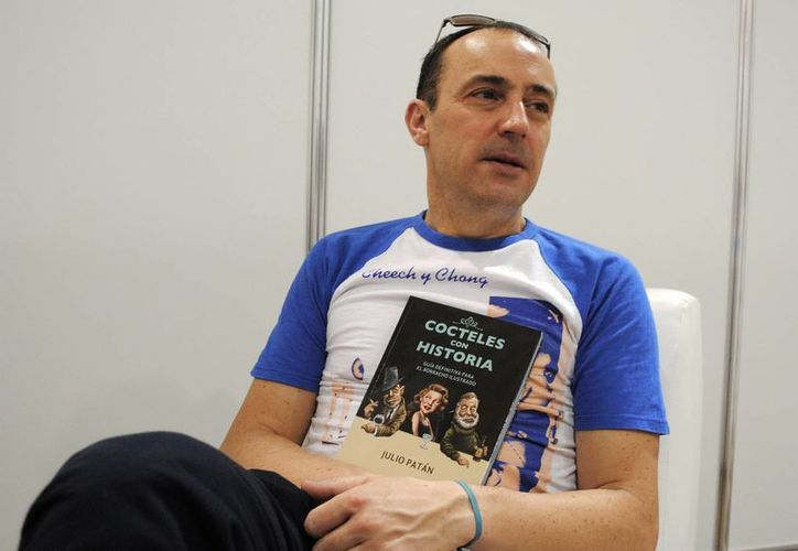 Julio Patán confía en una reedición de su libro. (Milenio Novedades)