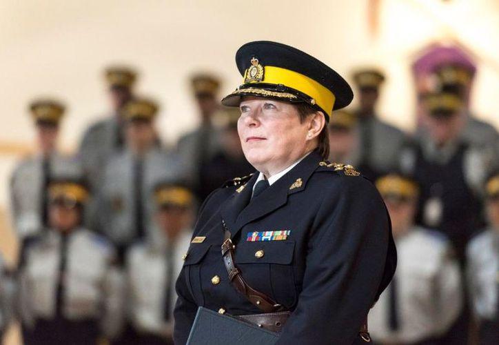 Brenda Lucki tendrá como una de sus misiones, mejorar la imagen del tradicional cuerpo de policía. (The Canadian Press)