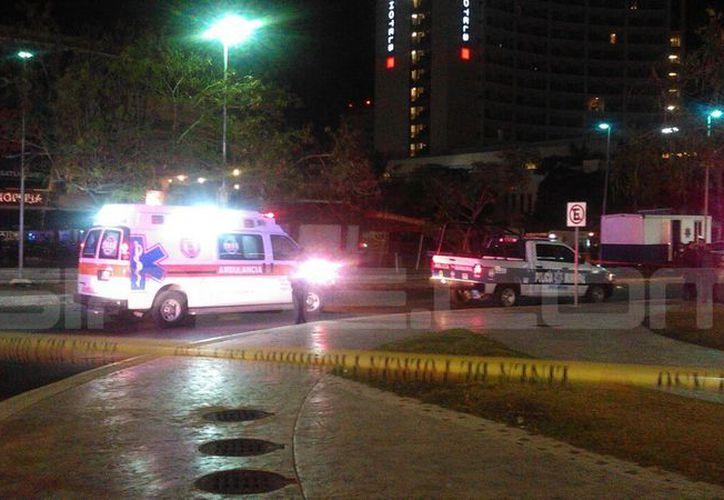 Elemento policíaco pierde la vida en tiroteo. (Rubén Dario/ SIPSE)