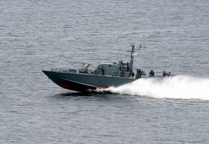 Un importante despliegue del Ejército de Nicaragua continúa con las labores de búsqueda de los demás marinos extraviados. (EFE)