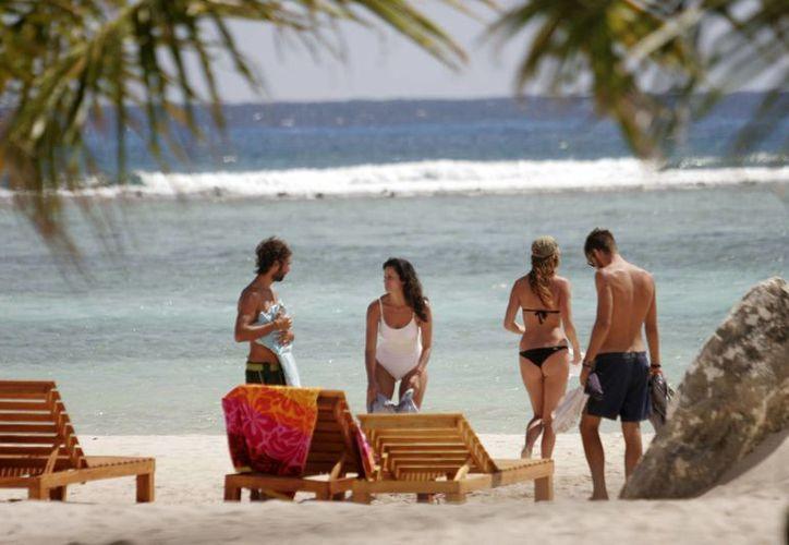 Espera Majahual que el turismo europeo, canadiense y alemán se consolide durante 2013, rescatando sectores productivos y de servicios establecidos en el destino turístico. (Enrique Mena/SIPSE)