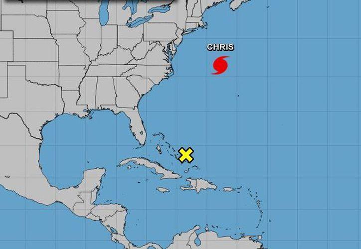 El ciclón se desplaza rápidamente en dirección al noreste con una velocidad de traslación de 22 millas por hora. (NOAA)