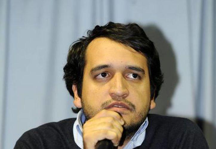 Andrés Manuel López Beltrán, de 27 años, coordino las giras de su papá para promover el Movimiento Regeneración Nacional. (Notimex)