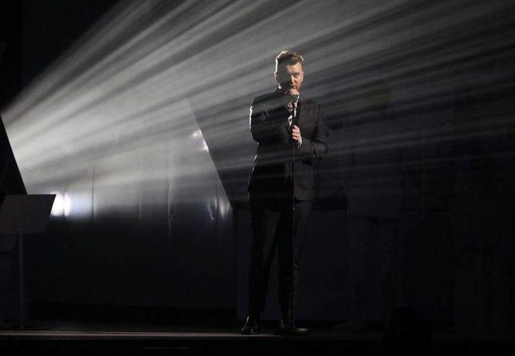 Los premios Brit 2015 a los mejor de la música brintánica rompieron el récord de audiencia de 2014. En la imagen, Sam Smith, durante la ceremonia. (Archivo/AP)