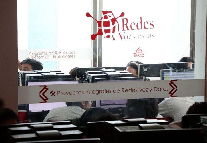 La empresa Voz y Datos fue la encargada de operar el PREP en Yucatán. (Daniel Sandoval)