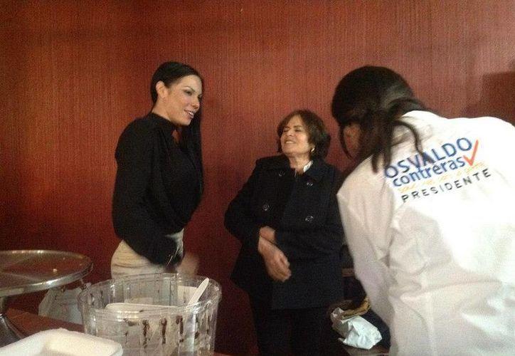 Giselle Arellano Ávila lanzó su campaña para ser diputada. (Archivo Sipse)