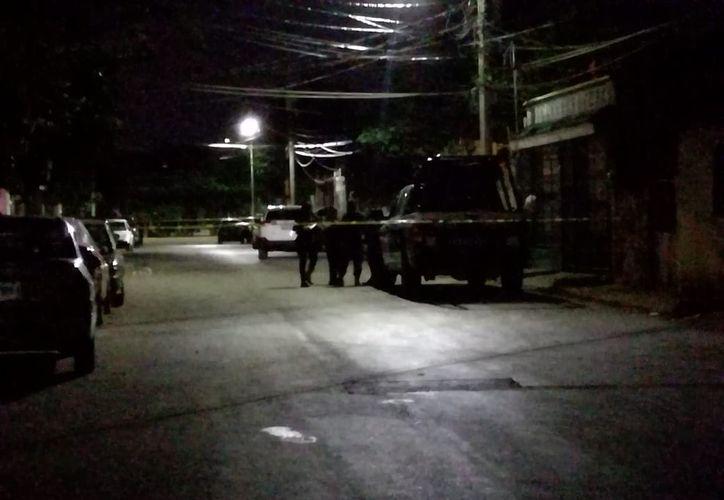 El ataque ocurrió en la calle 8, casi esquina con la avenida Comalcalco, en la Región 95. (SIPSE)