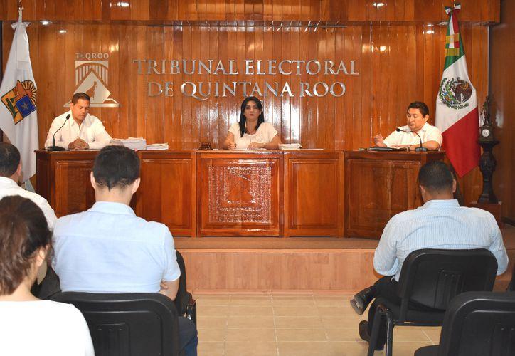 Se resolvieron dos juicios por los derechos electorales. (Joel Zamora/SIPSE)