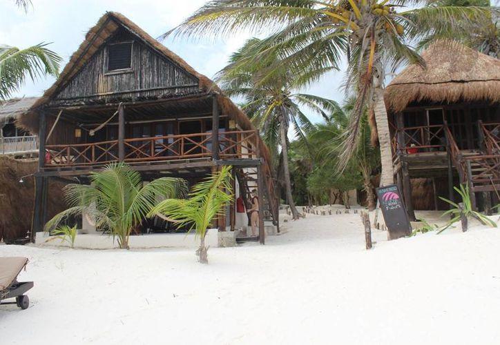 El Hotel Azúcar está compuesto de cinco cabañas. (Sara Cauich/SIPSE)