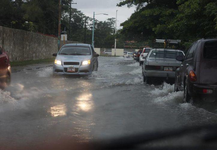 Actualmente tienen identificados 50 puntos en la capital, propensos a sufrir inundaciones. (Archivo/SIPSE)