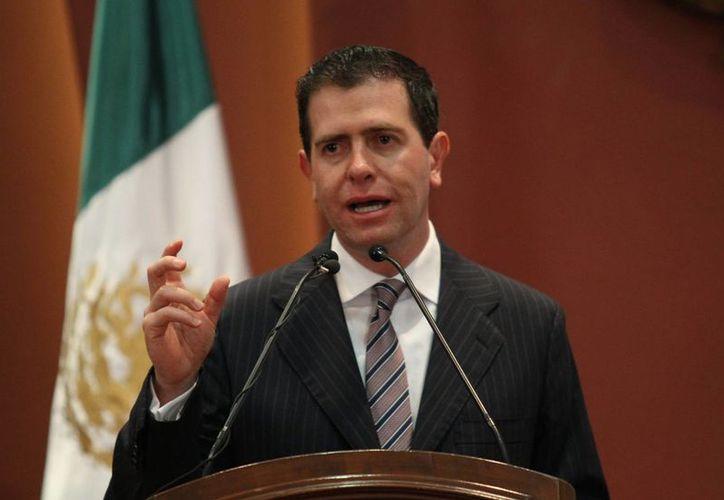 Alfredo Castillo asegura que en Michoacán hay distractores que buscan desviar la atención de las acciones federales en seguridad. (Archivo/Notimex)