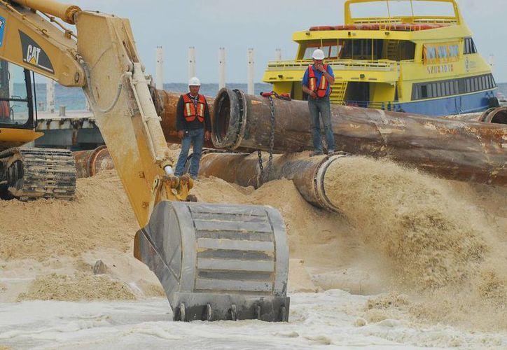 El presupuesto federal para la recuperación de playas de Q. Roo no contempla a la Riviera Maya. (Archivo/SIPSE)