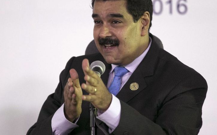Nicolás Maduro creó el premio 'Hugo Chávez a la Paz y la Soberanía de los Pueblos'. (AP/Ariana Cubillos)