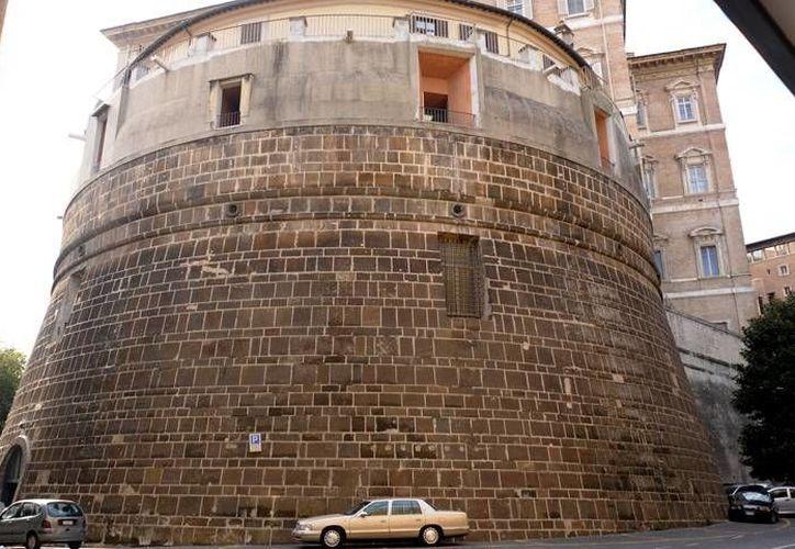 El Banco del Vaticano, cuyo edificio aparece en la imagen, fue objeto de mayor escrutinio tras una investigación por lavado de dinero en 2010. (ncronline.org)